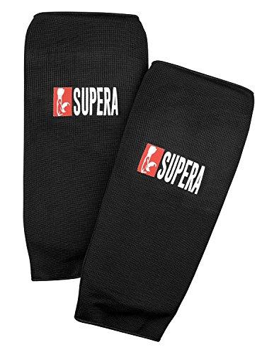 Supera Schienbeinschützer für Kampfsport - Kickboxen Schienbeinschützer und Muay Thai - Mit Dicker Polsterung für Härtere Kicks!
