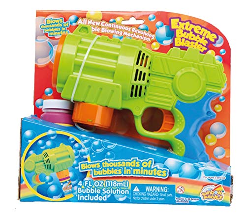 Haberkorn Seifenblasen-Pistole groß Seifenblasenmaschine Bubble Blaster Extreme