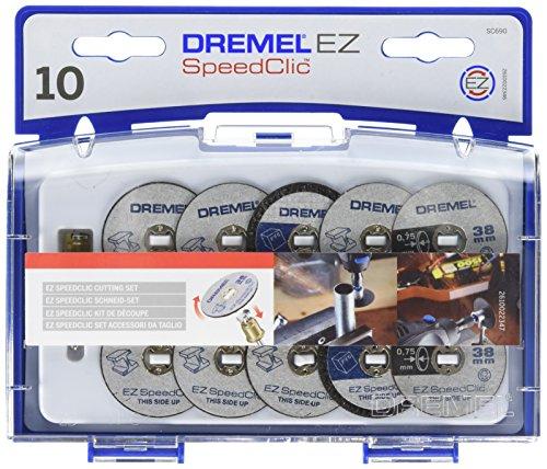 Dremel SC690 EZ SpeedClic Trennscheiben und Aufspanndorn-/Schneide-Set