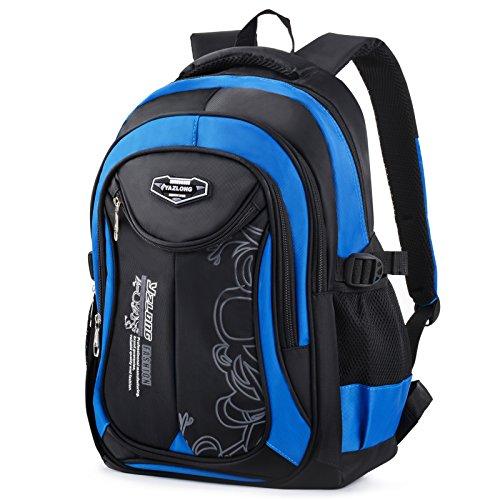 Schulrucksack Jungen, Coofit Schulranzen Jungen Teenager 5. klasse Schultaschen Casual Daypack Travel Rucksäcke