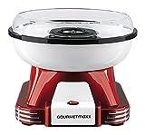 GOURMETmaxx 07329 Zuckerwatte-Maschine für zuhause | ideal für Kindergeburtstag | 500 Watt | Rot-Weiß