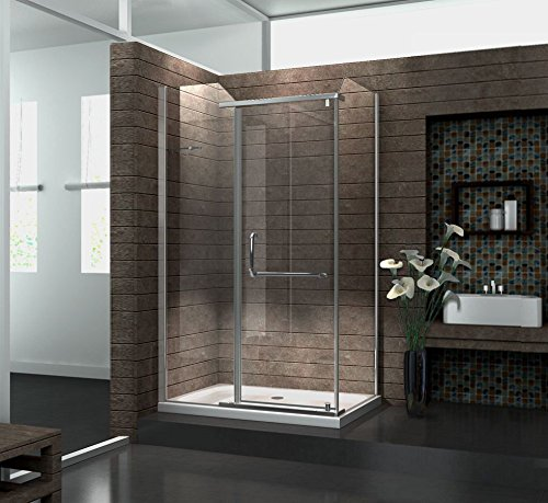 Duschkabine VITA 120 x 80 x 200 cm inkl. Duschtasse