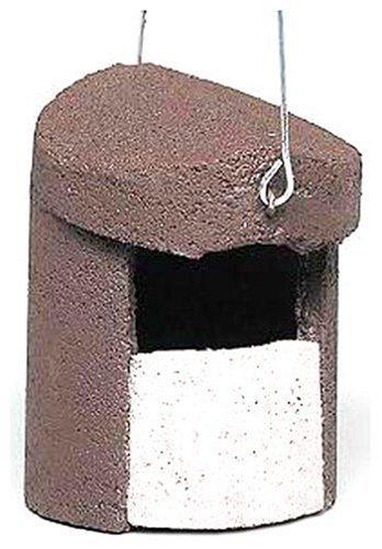 Erdtmanns Schwegler 00152/8 Halbhöhle zum Aufhängen, aus Holzbeton