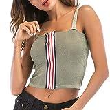 Btruely Weste Damen V-Ausschnitt T-Shirt Elegant Tops Kurze Camisole Chiffon T-Shirts Ärmellos Freizeithemd Tanktop Bowknot Trägershirt