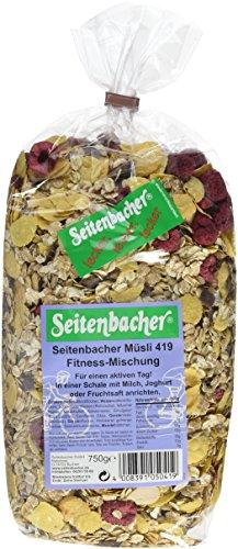 Seitenbacher Müsli Fitness-Mischung, 3er Pack (3 x 750 g Packung)