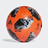 adidas Fussball Telstar 18 World Cup Glider WM 2018 Solar Red/Black/Silver Met. 4