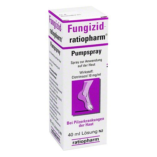 Fungizid-ratiopharm Spray, 40 ml