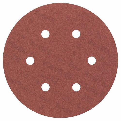 Bosch Pro Schleifblatt Expert for Wood and Paint Holz und Farbe für Exzenterschleifer (5 Stück, Ø 150 mm, Körnung 240, C430)