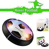 Air Power Fußball, CELLSTAR Hover Ball Indoor Fußball mit LED Beleutung Buntes Licht mit Schaumstoff Rand
