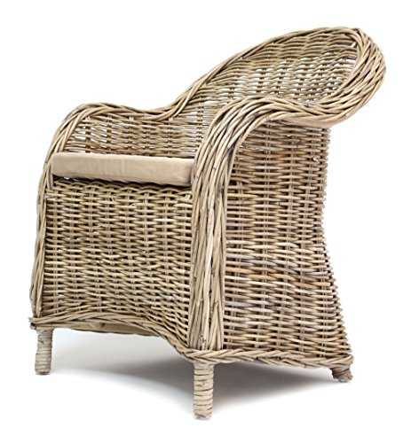 Rattan-Sessel 'Koboo Grey'