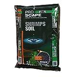 JBL ProScape ShrimpSoil 67084 Bodengrund Braun für Garnelen Aquarien, 3 l, Brown