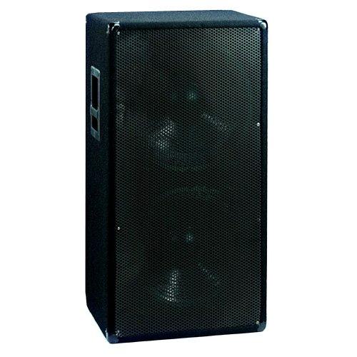 Omnitronic BX-2550 Subwoofer 1200W | 2 x 15' Subwoofer mit 1200 Watt Leistung | Druckvolle Bass-Unterstützung für alle Topteile