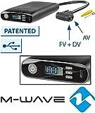 M-Wave Akku Minipumpe-elumatik USB, Schwarz, Einheitsgröße