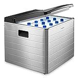Dometic COMBICOOL RC 2200 EGP - lautlose Absorber-Kühlbox aus Aluminium I für Auto, Steckdose und Gas-Anschluss (50 mbar) I Mini-Kühlschrank für Camping und Schlaf-Zimmer I 40 Liter