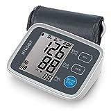 HYLOGY Blutdruckmessgerät, präziser medizinischer blutdruckmessgerät oberarm mit extra großem LCD-Display, breite Manschette (22cm-32cm), 2 Benutzermodus (180 Speicher), Arrhythmie-Erkennungsfunktion