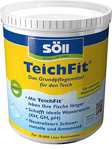Söll 15212 TeichFit - Das Grundpflegemittel für den Gartenteich, 1 kg