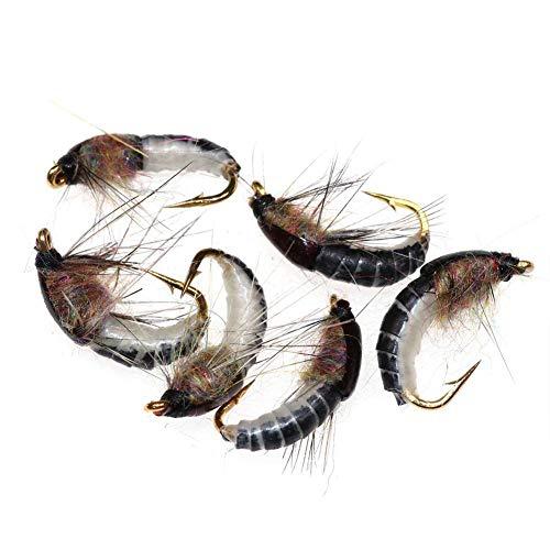 Fischen Trout Angeln Köder Forelle Fliegendes Insekt Gummiköder 6 Stück Christy Harrell