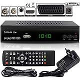 Strom 506 DVB-T2 Digital Receiver - { Terrestrisch TNT } DVB-T / DVB-T2 Full HD MPEG 2 MPEG 4 H.265 1080i 1080p  Einfache Installation - Schwarz