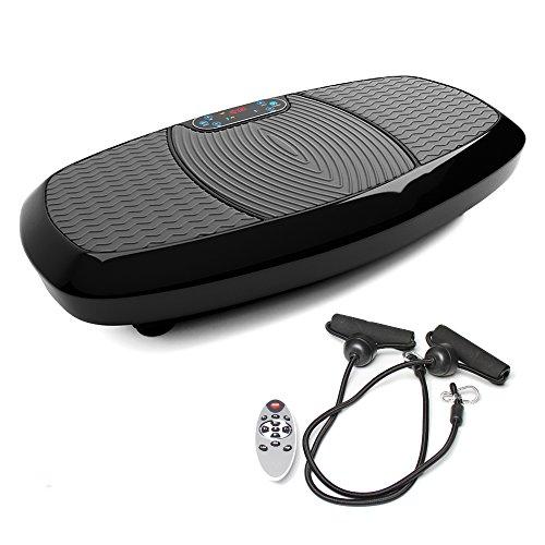 Bluefin Fitness 3D Dual-Motor Vibrationsplatte | Oszillation und Vibration | Ultimatives Fitnessgerät für Fettabbau und Gewichtsreduzierung