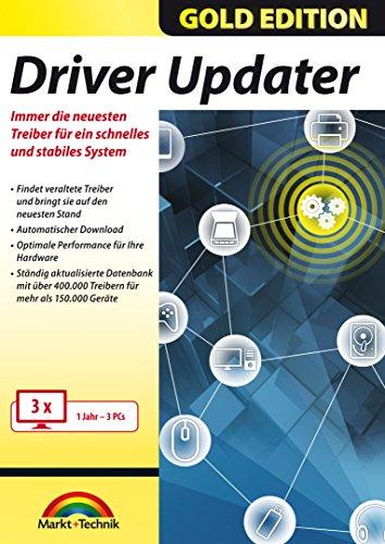 Driver Updater - Universal Treiber aktualisieren für Windows 10/8.1/7 für 3 PCs - 1 Jahr ab Aktivierung
