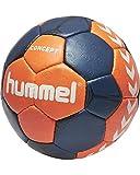 hummel Erwachsene Concept Handball Nasturtium/Ombre Blue/White, 3