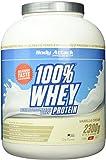 Body Attack 100% Whey Protein, Vanille, 1er Pack (1x 2300g)