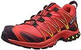 Salomon Damen XA Pro 3D GTX Trailrunning-Schuhe, Synthetik/Textil, Orange (hibiscus/potent purple/sulphur spring), Gr. 41 1/3
