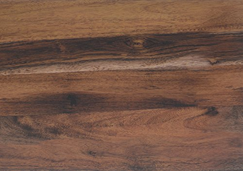 Klebefolie EICHE RUSTIKAL Dekofolie Möbelfolie Tapeten selbstklebende Folie, PVC, ohne Phthalate, Natur-Holzoptik braun, 45cm x 3m, 95µm (Stärke: 0,095 mm), Venilia 53155