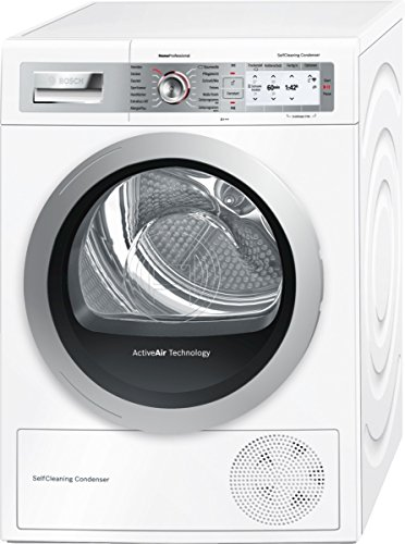 Bosch WTYH77W0 Wärmepumpentrockner Home Connect / A+++ / 8 kg / Self Cleaning Condenser / weiß