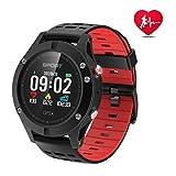 Smart Watch, Sportuhr mit Höhenmesser / Barometer / Thermometer und eingebautem GPS, Fitness Tracker zum Laufen, Wandern und Klettern, IP 67 Waterproof Pulsmesser für Männer, Frauen und Abenteurer.