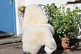 Schaffell Lammfell Merinoschaf groß 130-140cm Weiß ökologische Gerbung