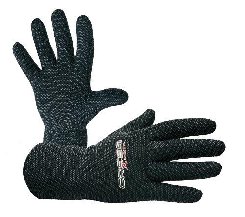 Cressi Handschuhe x-thermic 3mm, Farbe Schwarz, Größe L