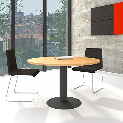 OPTIMA runder Besprechungstisch Esstisch Küchentisch Tisch Buche Rund Ø 120 cm