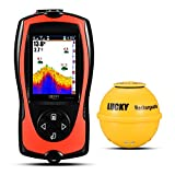 Lucky ff1108–1 cwla wiederaufladbar Kabelloser Fisch-Finder High Definition LCD Tiefe Finder