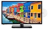 MEDION E12413 59,9 cm (23,6 Zoll) Full HD Fernseher (Triple Tuner, DVB-T2 HD, integrierter DVD-Player, Mediaplayer, 12V KFZ Car-Adapter)