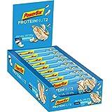 Powerbar Protein Riegel ProteinNut2 Eiweiß-Riegel (Kohlenhydratreduziert, kaum Zucker) White Chocolate Coconut, 18 x 60g
