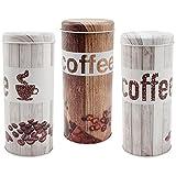 com-four Kaffeepaddosen, Dekodose, Aufbewahrungsbehälter für Kaffeepads