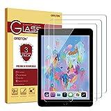 OMOTON [ 3 Stück Panzerglas Schutzfolie für iPad 2018 / iPad 2017 / iPad Air/iPad Pro 9.7 Displayschtzfolie (9H, blasenfrei, transparent)