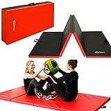 Eyepower XL Gymnastikmatte 240x120x5cm Turnmatte Sportmatte Weichbodenmatte Rot