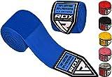 RDX Boxen Boxbandagen Wraps MMA Elastisch Handschuhe Daumenschlaufe 4,5 Meter Innenhandschuhe Muay Thai