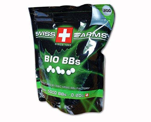 Swiss Arms Softair BIO BBs 0.20 g Kal. 6 mm 5.000 Stück weiß, 203806