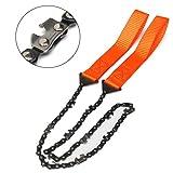 geshiglobal Geshig-Überlebens-Kettensäge Handkettensäge Notfall-Taschenausrüstung Chic Camping Werkzeug