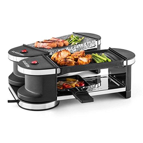 Doppel Raclette-Grill