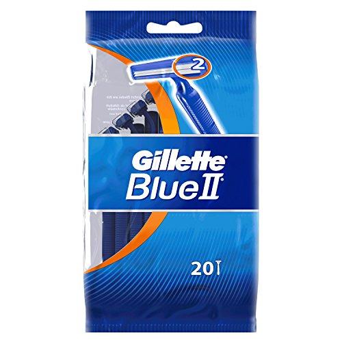Gillette Blue II Einwegrasierer, 20Rasierer