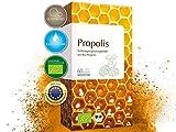 MEDICOM BIO Propolis Kapseln biozertifiziert mit 400 mg gereinigter Bio Propolis pro Kapsel reine Bienenkraft - 60 Stk