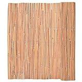 Festnight Garten Bambusmatte Sichtschutzmatte Bambus Sichtschutz Bambuszaun 150 x 400 cm