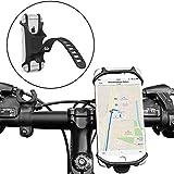 Ailun Fahrrad Handyhalterung Motorrad Fahrradhalterung, Outdoor Universal Silikon Telefonhalter für iPhone 8/7/6s Plus, Galaxy S9/S8/S7 alle 4-6 Zoll Smartphone GPS, Verstellbarer Lenker Handyhalter