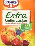 Dr. Oetker Gelierzucker Extra 2:1, 7er Pack (7 x 500 g Packung)