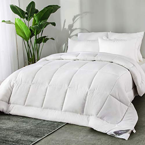 Bedsure Bettdecke Oeko-Test Zertifiziert für Allergiker geeignet, Super Weiche Kuschelige Steppdecke Schlafdecke