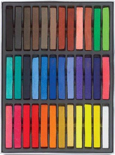 Boolavard Haarkreide 36 Farben Set Hairchalk Haar Kreide